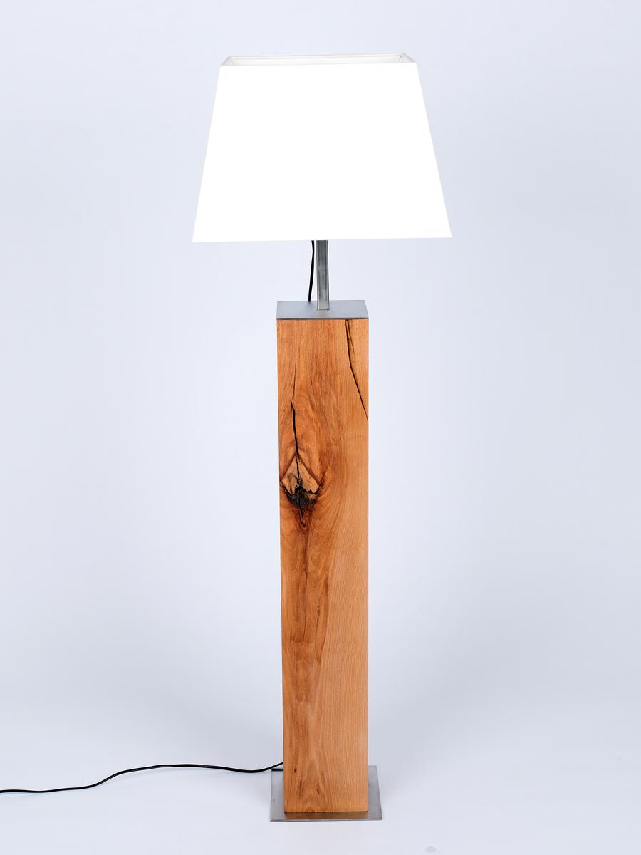 Stehlampe Arion Hochwertige Lampen Aus Holz Oder Edelmetall